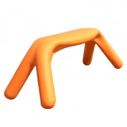 Banc Atlas, Slide Design orange