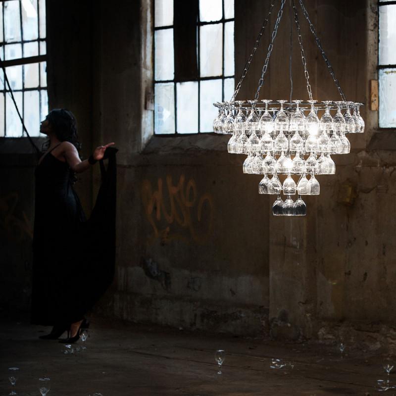 lustre en verre transparent lustre lampes design sampa helios victoria transparent verre with. Black Bedroom Furniture Sets. Home Design Ideas