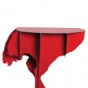 Console Diva Autruche, Ibride rouge brillant