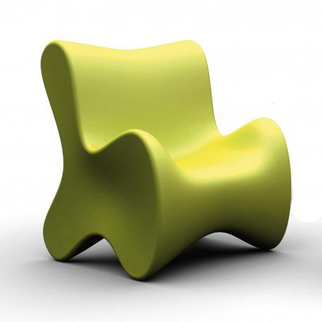 Fauteuil design Doux, Vondom vert