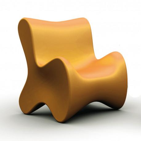 Fauteuil design Doux, Vondom orange
