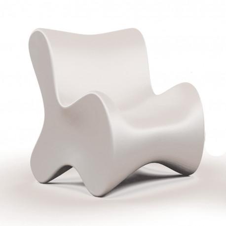 Fauteuil design Doux, Vondom blanc