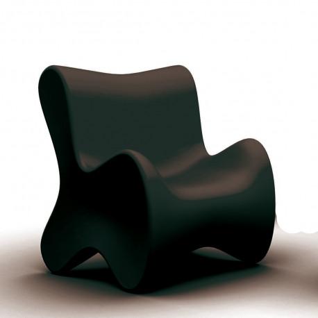 Fauteuil design Doux, Vondom noir