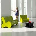 Sofa design Doux, Vondom rouge