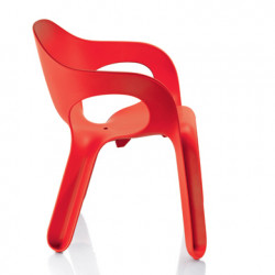 Chaise Easy Chair, Magis rouge