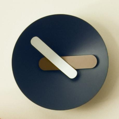 Horloge Mozia, Diamantini & Domeniconi bleu foncé 26cm