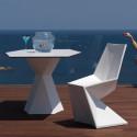 Chaise design Vertex, Vondom rouge