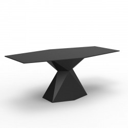 Table Vertex L180 cm, Vondom noire