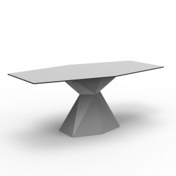 Table Vertex L180 cm, Vondom gris