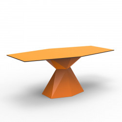 Table Vertex L180 cm, Vondom orange