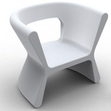 Fauteuil design Pal, Vondom blanc