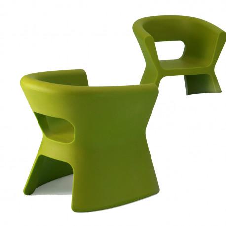 Fauteuil design Pal, Vondom vert