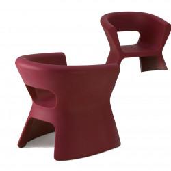 Fauteuil design Pal, Vondom rouge