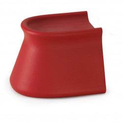 Table/Tabouret design Pal, Vondom rouge