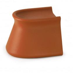 Table/Tabouret design Pal, Vondom orange