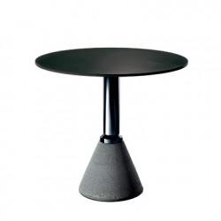 Table One, Magis noir, structure noir diamètre 79 cm