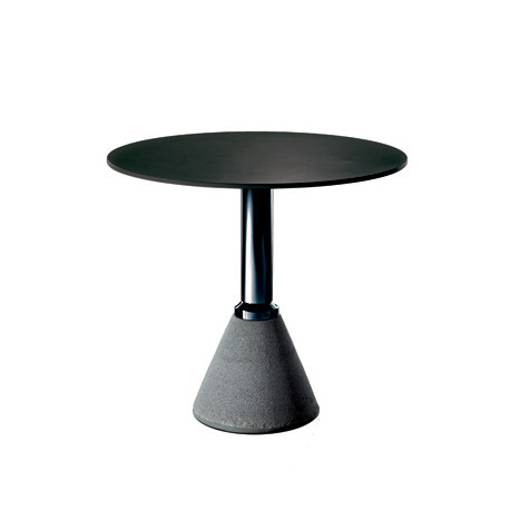 Table One, Magis noir, structure noir diamètre 79 cm
