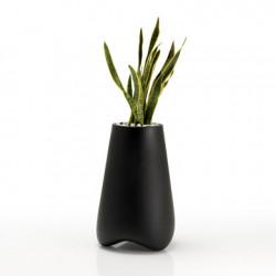 Pot de Jardin Vlek diamètre 45 cm, Vondom noir Mat