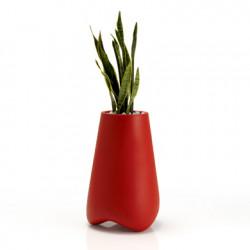 Pot de Jardin Vlek diamètre 45 cm, Vondom rouge Mat