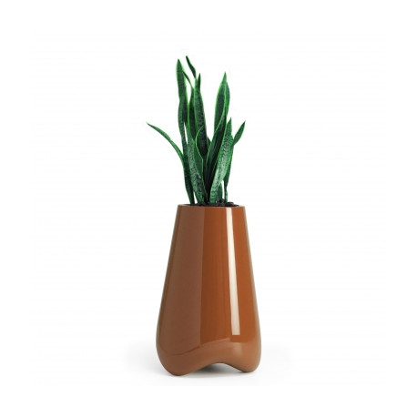 Pot de Jardin Vlek diamètre 45 cm, Vondom orange laqué Laqué