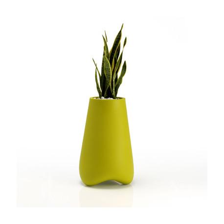 Pot de jardin Vlek diamètre 55 cm, Vondom vert Mat