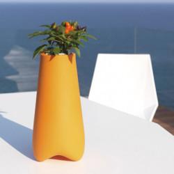 Pot de jardin Vlek diamètre 55 cm, Vondom orange Mat