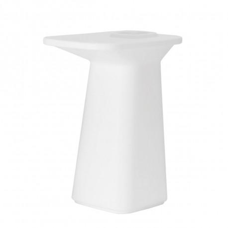 Table haute Jardinière Moma, Vondom blanc