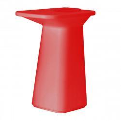 Table haute Jardinière Moma, Vondom rouge