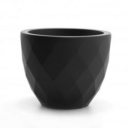 Pot Vases S, Vondom noir double paroi
