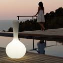 Vase lumineux Chemistube, Vondom blanc Taille S