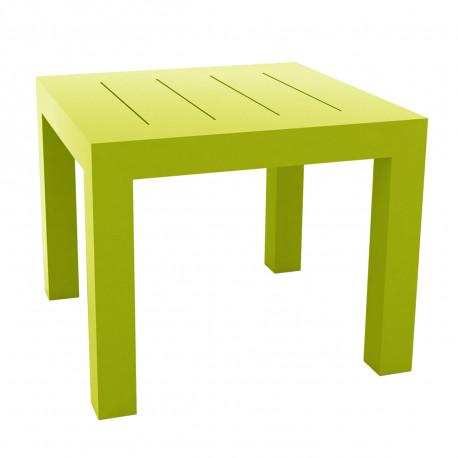 Table carrée Jut, Vondom vert