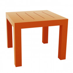 Table carrée Jut, Vondom orange