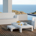 Table basse Jut, Vondom blanc