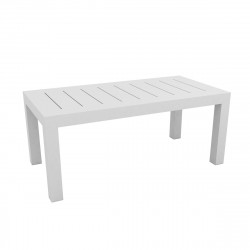 Table rectangulaire Jut L180cm, Vondom blanc