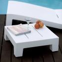 Petite table basse Jut, Vondom blanc