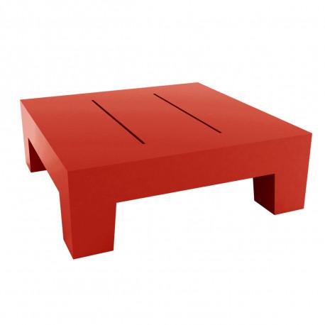 Petite table basse Jut, Vondom rouge