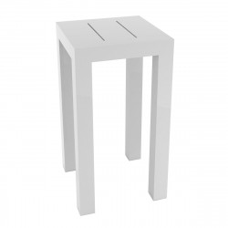 Table haute Jut, Vondom blanc