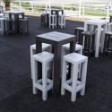 Table haute Jut, Vondom blanc