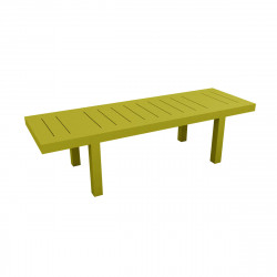 Table rectangulaire Jut L280cm, Vondom vert