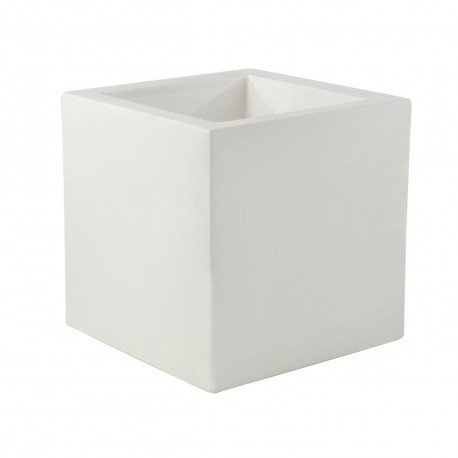 Pot Cubo 50cm, simple paroi, Vondom blanc