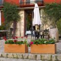 Jardinera Basique, Vondom terracotta Longueur 80 cm