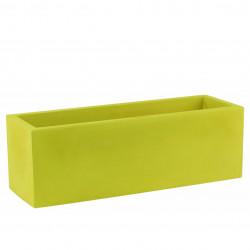 Jardinera simple paroi, Vondom, vert pistache Longueur 120x50xH50 cm