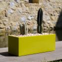 Jardinera Basique, Vondom vert Longueur 120 cm
