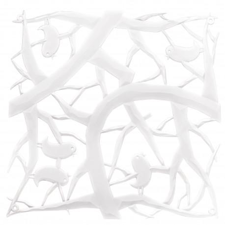 20 carrés séparations design PIP, Koziol blanc opaque