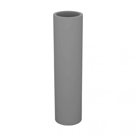 Pot Torre Aigua, Vondom gris acier Diamètre 20 cm