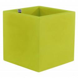 Pot Cubo 50 cm, double paroi, avec réserve d\'eau, Vondom vert