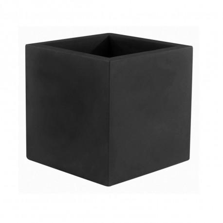 Pot Cubo 50 cm, laqué brillant, Vondom noir