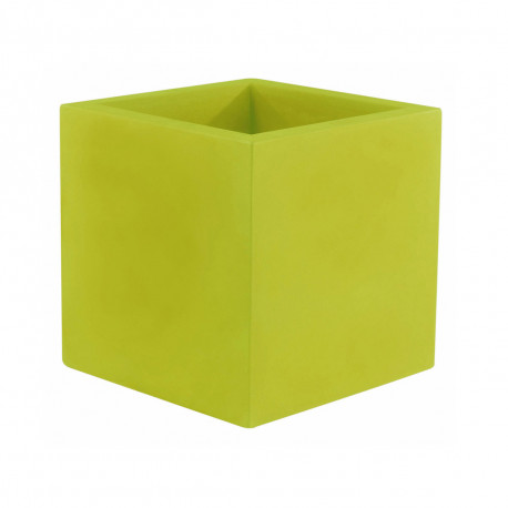 Pot Cubo 50 cm, laqué brillant, Vondom vert