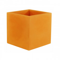 Pot Cubo 50 cm, laqué brillant, Vondom orange