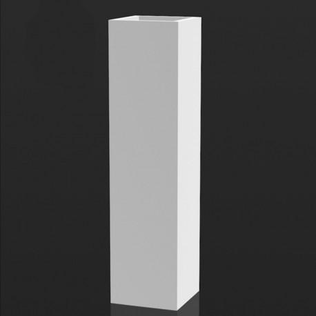 Pot lumineux Torre Cuadrada 20 cm, Vondom blanc